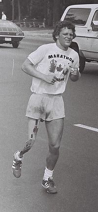 Terry Fox ~ Toronto, Canada ~ July 12, 1980