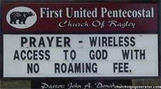 church sign 1